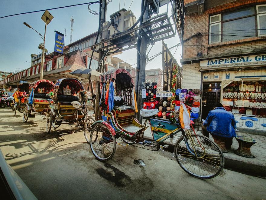 Ricsa in Nepal