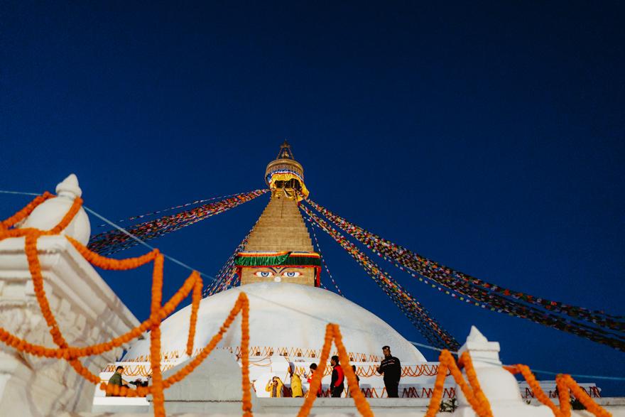 Budha Stupa in Nepal