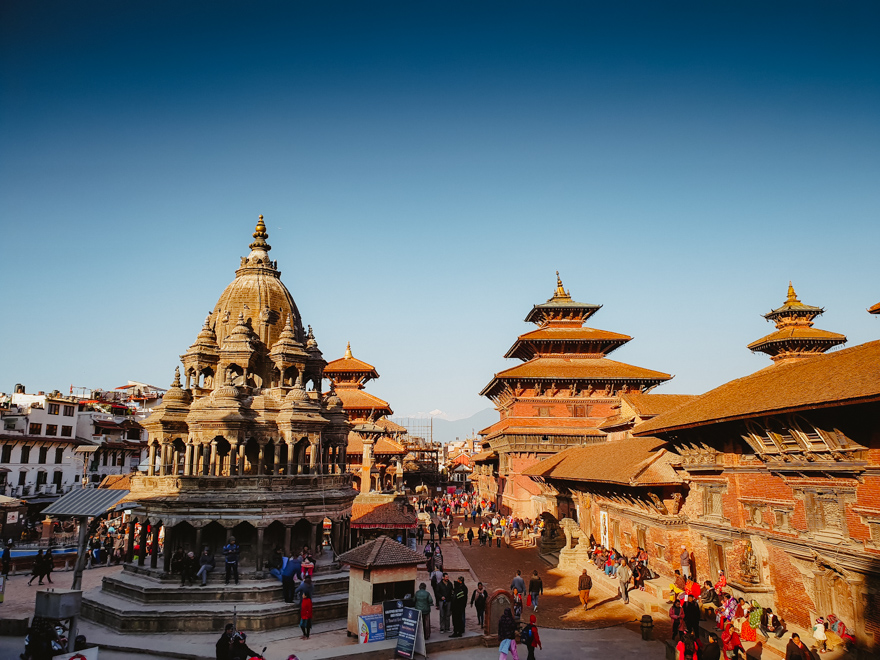 Patan Durbar Square in Nepal