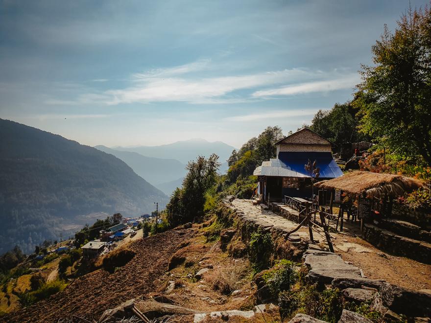 Peisaj autohoton in Nepal