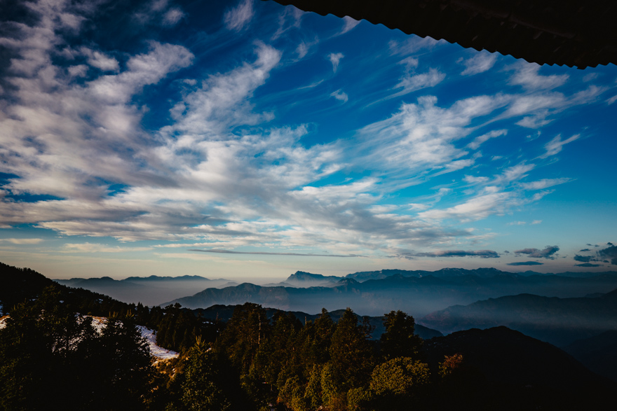 Rasarit de soare pe Poon Hill in Nepal
