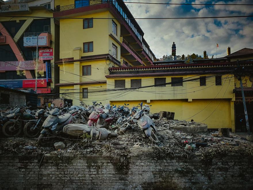 Trafic in Nepal