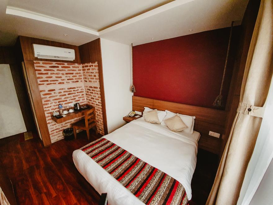 Interior de hotel in Nepal