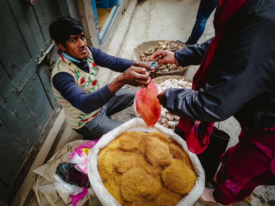 Taitei in Asan, Nepal