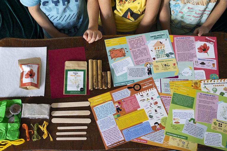 Cutia Naturii de la Ferma terapeutică și educațională Happy by Nature